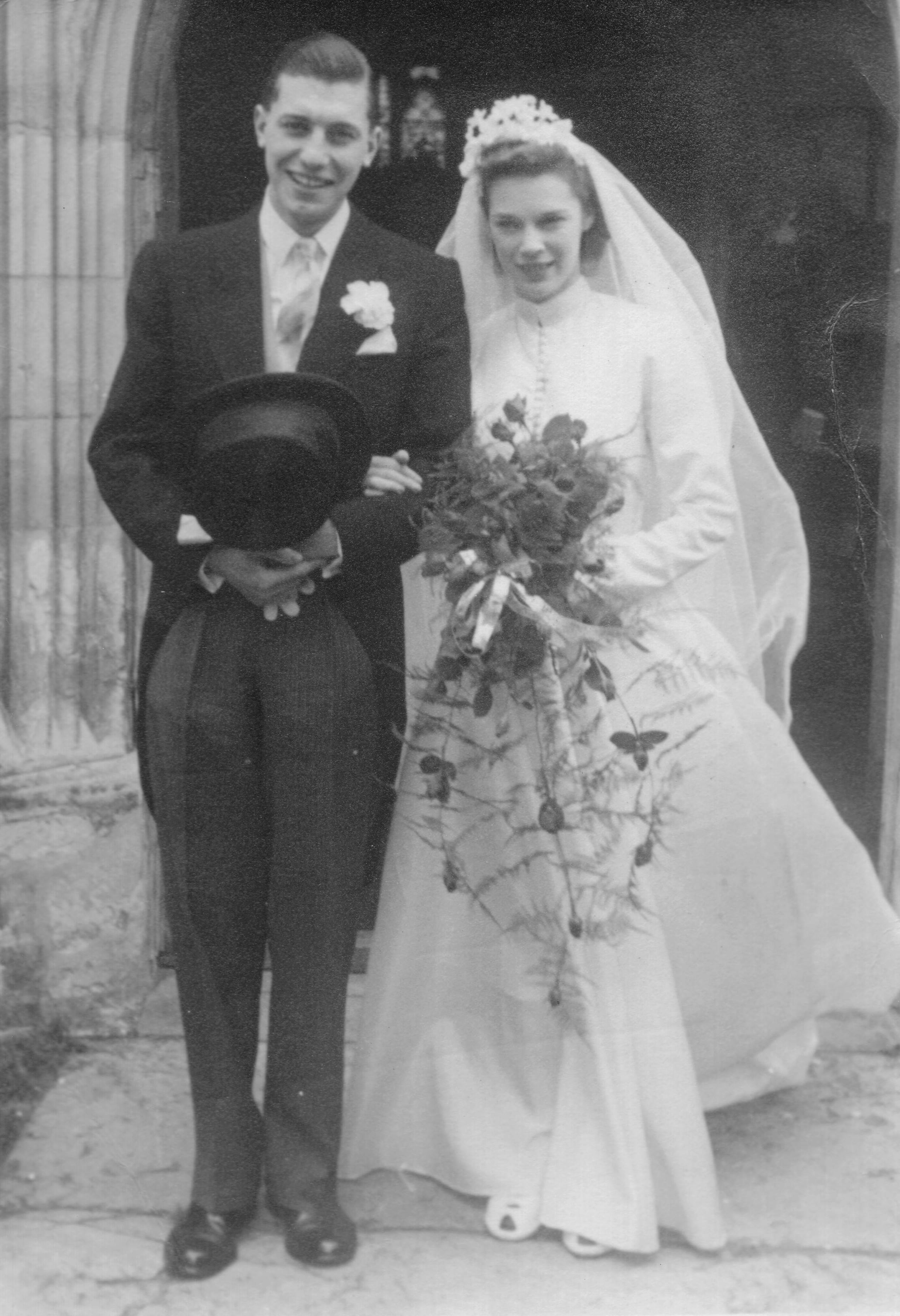 Billy & Ann, June 1950.jpg