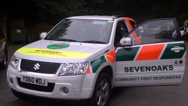 One our response vehicles