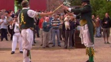 North Wood Morris Men At Westerham Brewery