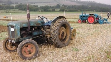 Sevenoaks Heavy Horse Show 2014 - Steam ploughing, stationary engines and tractors